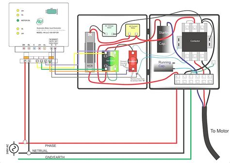 Wiring Diagram For Volt Submersible Pump