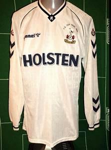 tottenham hotspur home football shirt 1989 1991