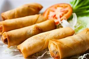 Vegetable Spring Rolls Recipe Dishmaps