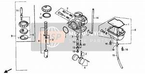 Honda Xr80 Carburetor Diagram