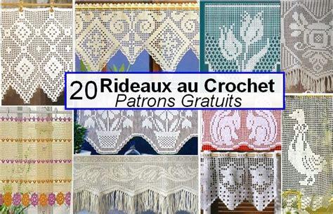 rideaux au crochet facile 7 modele rideau breton crochet gratuit recherche