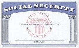 social security number social security number