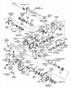 Solved  1990 F-350 4x4  Front Axle Removal  Any Info