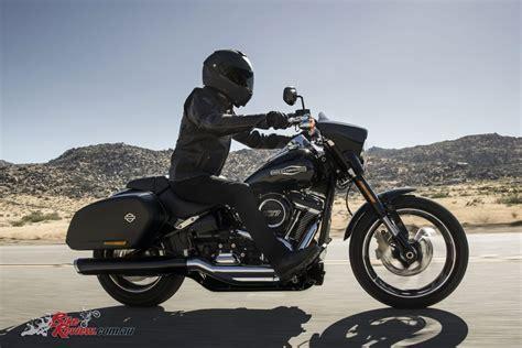 Review Harley Davidson Sport Glide by 2018 Harley Davidson Softail Sport Glide Unveiled Bike