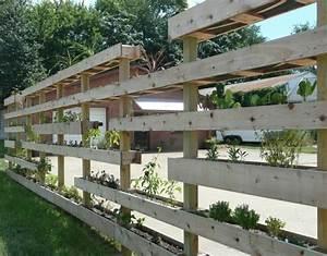 Diy Garten Ideen : gartenzaun selber bauen aus paletten ausgefallene diy ideen f r den gartenzaun ~ Indierocktalk.com Haus und Dekorationen