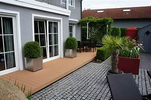 Zimmerei haderer ohg terrasse exklusiv holz kunststoff for Pvc holz terrasse