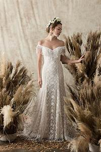 heather lace bohemian wedding dress dreamers and lovers With where to buy boho wedding dresses