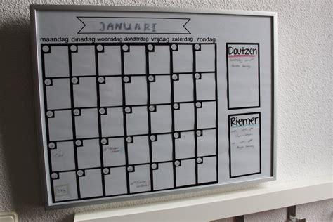 inrichting huis autisme planbord of agenda die je maandelijks invult creatiefduo
