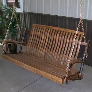 A  U0026 L Furniture Hickory Porch Swing