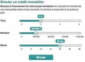 Taux Usure : simulation de pr t immobilier la bnp paribas ~ Gottalentnigeria.com Avis de Voitures