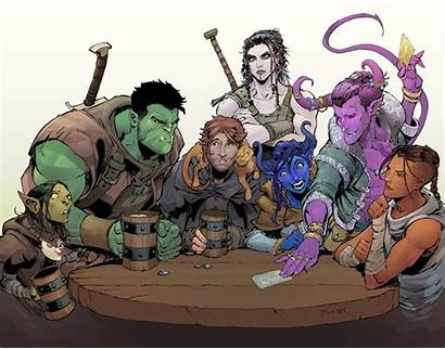 Critical Role Campaign Fan Dunbar Max Characters