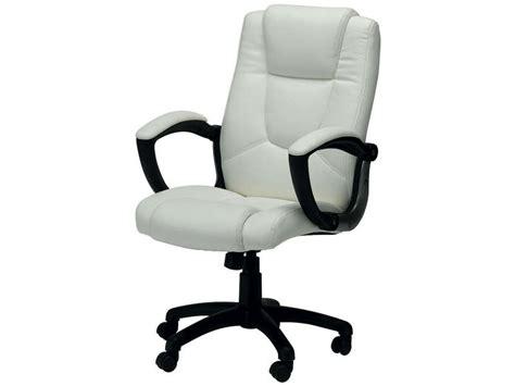fauteuil de bureau conforama fauteuil de bureau sam coloris blanc vente de fauteuil