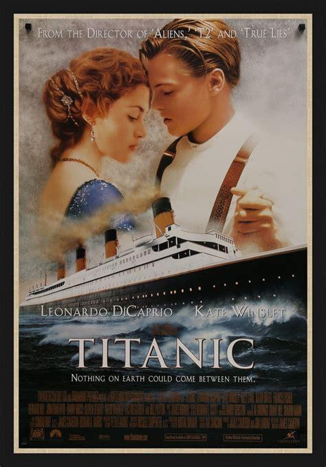 Titanic - 1997 - Original Movie Poster- Art of the Movies
