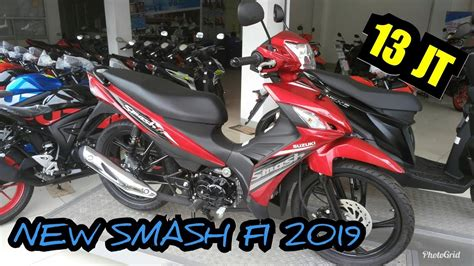 Modification Suzuki Smash Fi by Suzuki Smash Fi 2019 Injeksi