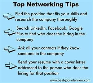 Cover Letter For Jobs Not Advertised Sample Networking Cover Letter