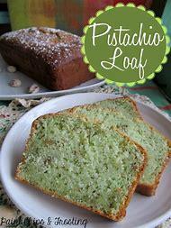 Pistachio Bread Recipe with Cake Mix