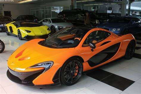 orange mclaren price 4th mclaren p1 arrives in malaysia gtspirit