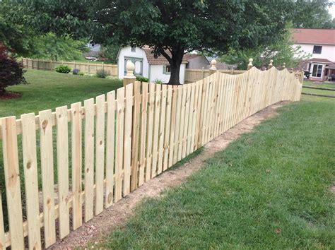 Wood Scallop Picket Fence-nky, Lexington, Cincinnati