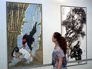 Contemporary Chinese paintings on display in Suzhou[1 ...