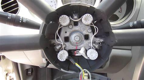 pt cruiser air bag removal youtube