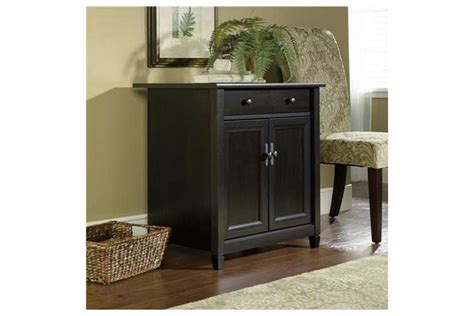 Living Room Utility Stand Home Display Cabinet   Black