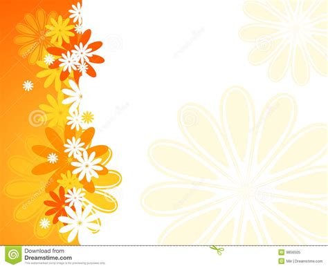 summer flower background stock vector image  design