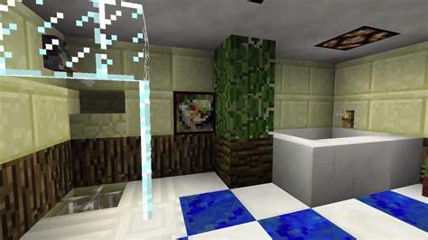 minecraft einrichtung badezimmer tutorial youtube