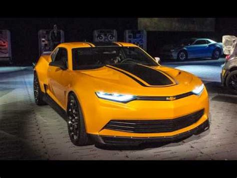 sneak peak  transformers chevrolet camaro