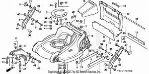 Honda Hrm215 Sxa Lawn Mower  Usa  Vin  Mzbb