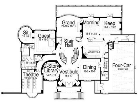 style home plans japanese castle small castle house floor plans castle
