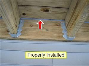 Deck Flashing Repair