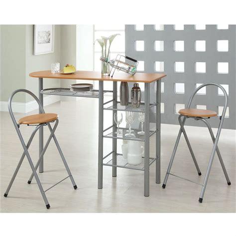table haute de cuisine et tabouret tabouret table cuisine design en image