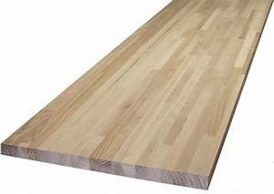 Plan Travail Massif : plan de travail bois ~ Premium-room.com Idées de Décoration
