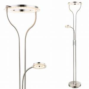 Led Stehlampe Messing Dimmbar : stehlampe holz mit leselampe ~ Bigdaddyawards.com Haus und Dekorationen