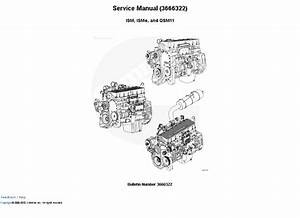Cummins Engine Ism  Isme  Qsm11 Manual Download