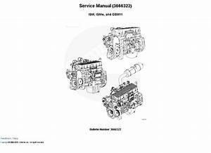 Cummins Engine Ism  Isme  Qsm11 Manual Download