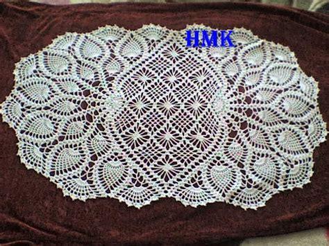 napperon ovale napperons crochet pinterest diagramme