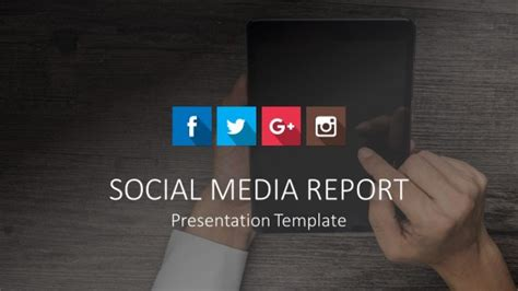 social media design templates marketing powerpoint templates