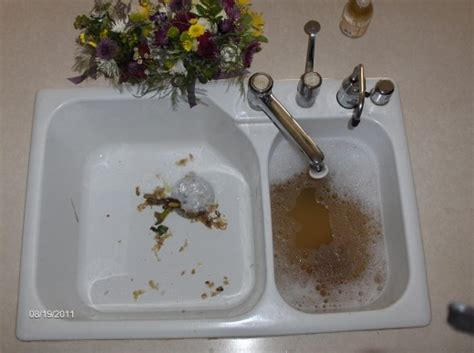 unclog  kitchen sink  garbage disposal hubpages