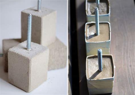 basteln mit beton diy schrankgriffe aus beton freshouse