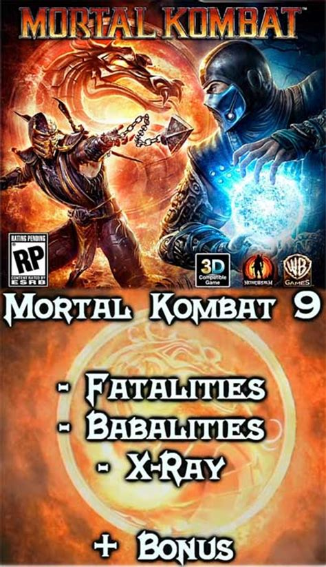mortal kombat 9 all x asavsong