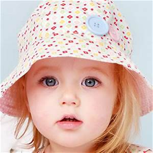 Cute baby girls with blue eyes |The Free Images