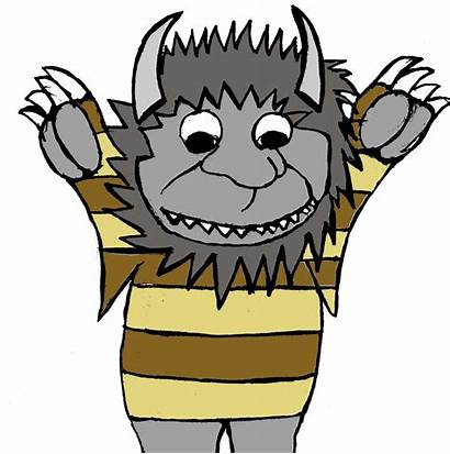 Wild Things Clipart Clip Characters Character Cartoon