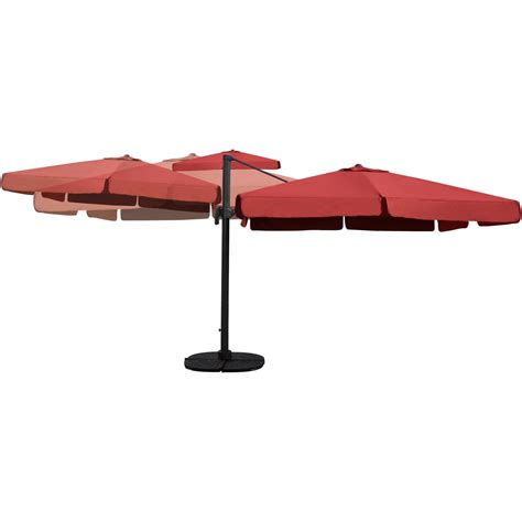 colored kitchen knives darlee 10 ft square cantilever patio umbrella with base