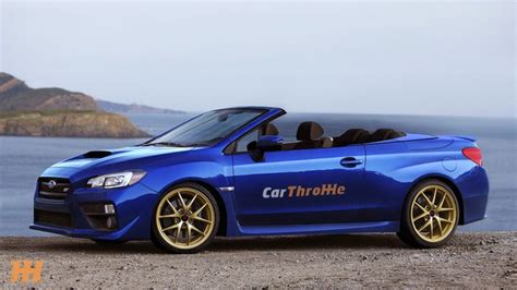 subaru convertible is there a place in the world for a subaru wrx sti