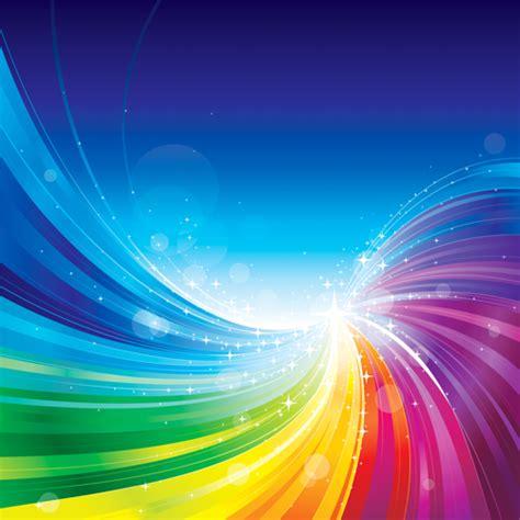 vector shiny rainbow background  vector background