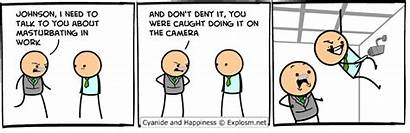 Explosm Comics Happiness Cyanide Dave Poisons Religion