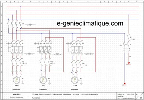 schema electrique chambre froide logiciel winrelais