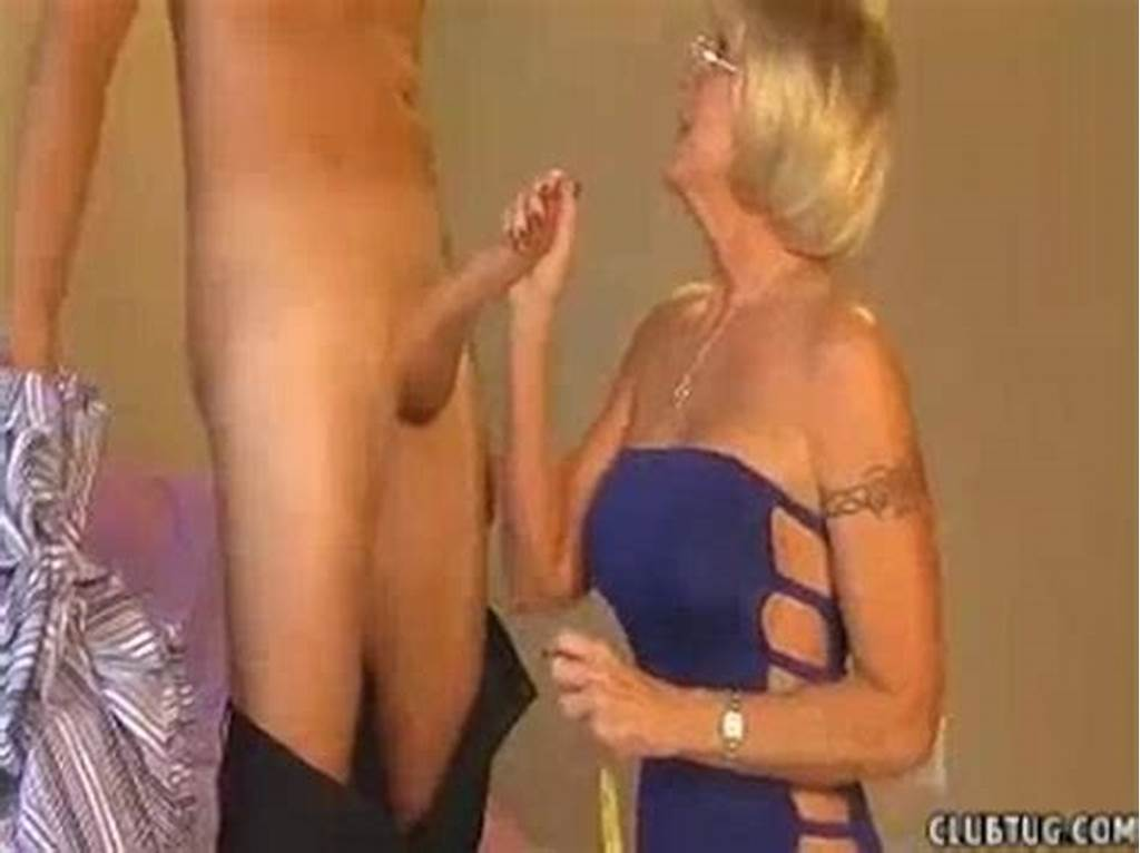#Granny #Accidentally #Touches #Young #Guy #S #Cock