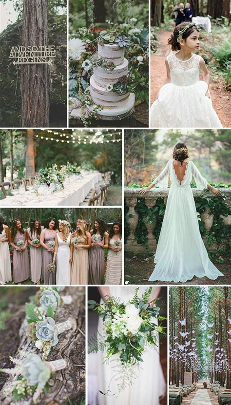 Enchanted Forest Themed Wedding Wedding Friends